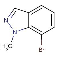 7-溴-1-甲基吲唑,1000576-59-9,结构式