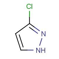 3-氯-1H-吡唑,14339-33-4,结构式