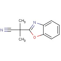 2-异丁腈基苯并恶唑,157763-81-0,结构式