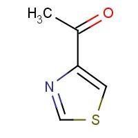 4-乙酰基噻唑,38205-66-2,结构式