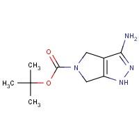 3-氨基-5-叔丁氧羰基-吡咯并[3,4-C]吡唑,398491-59-3,结构式