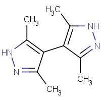 3,5,3,5-四甲基-1H,1H-[4,4]联吡唑,4054-67-5,结构式