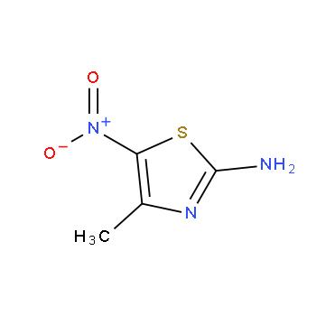 2-氨基-5-硝基-4-甲基-1,3-噻唑,56682-07-6,结构式