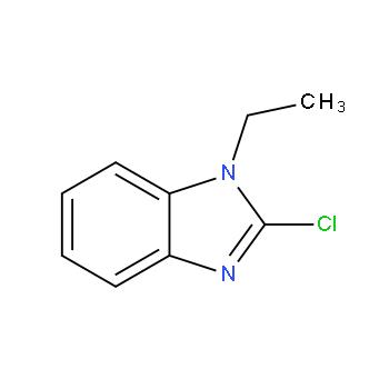 2-氯-1-乙基-1H-苯并[d]咪唑,58533-15-6,结构式