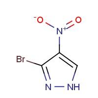 3-溴-4-硝基-1H-吡唑,784193-37-9,结构式