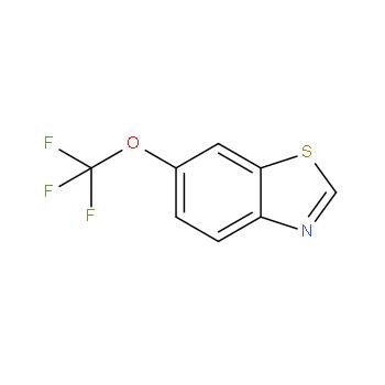 6-三氟甲氧基苯并噻唑,876500-72-0,结构式