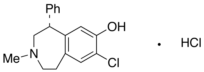 SCH 23390 hydrochloride,125941-87-9,结构式