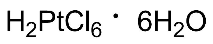 氯鉑酸,18497-13-7,結構式
