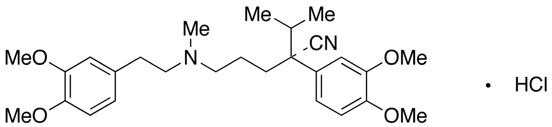 (R)-维拉帕米盐酸盐,38176-02-2,结构式